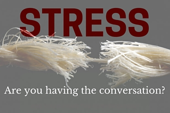 Stress conv - STRESS IN THE SOUTH AFRICAN WORKPLACE