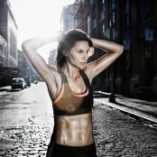 woman running at dusk 700x700 - 8 BENEFITS OF HIGH-INTENSITY INTERVAL TRAINING (HIIT)